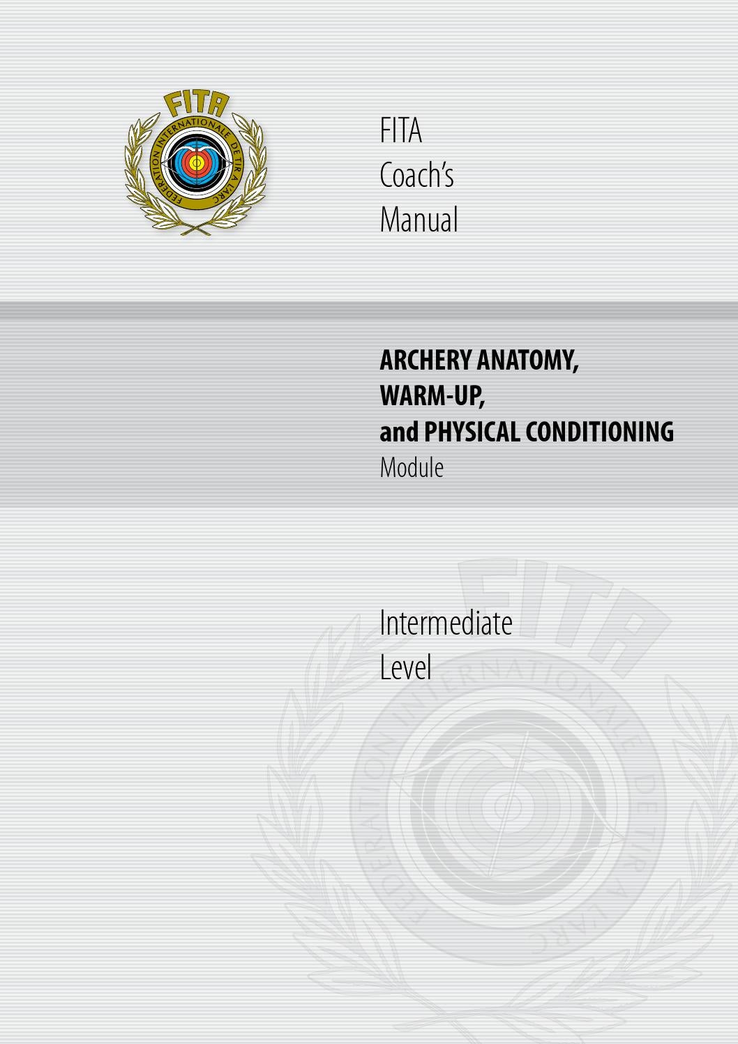 Fita Coachs Maunalarchery Anatomy By Rex Issuu