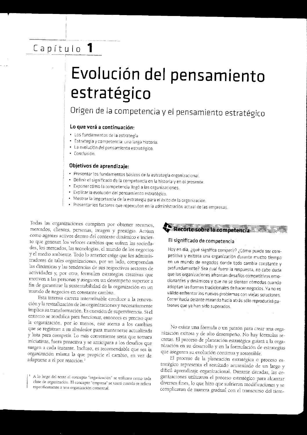 el significado de evoluciono