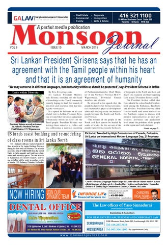 Monsoon Journal - MARCH 2015 Web Edition by Monsoon Journal - issuu
