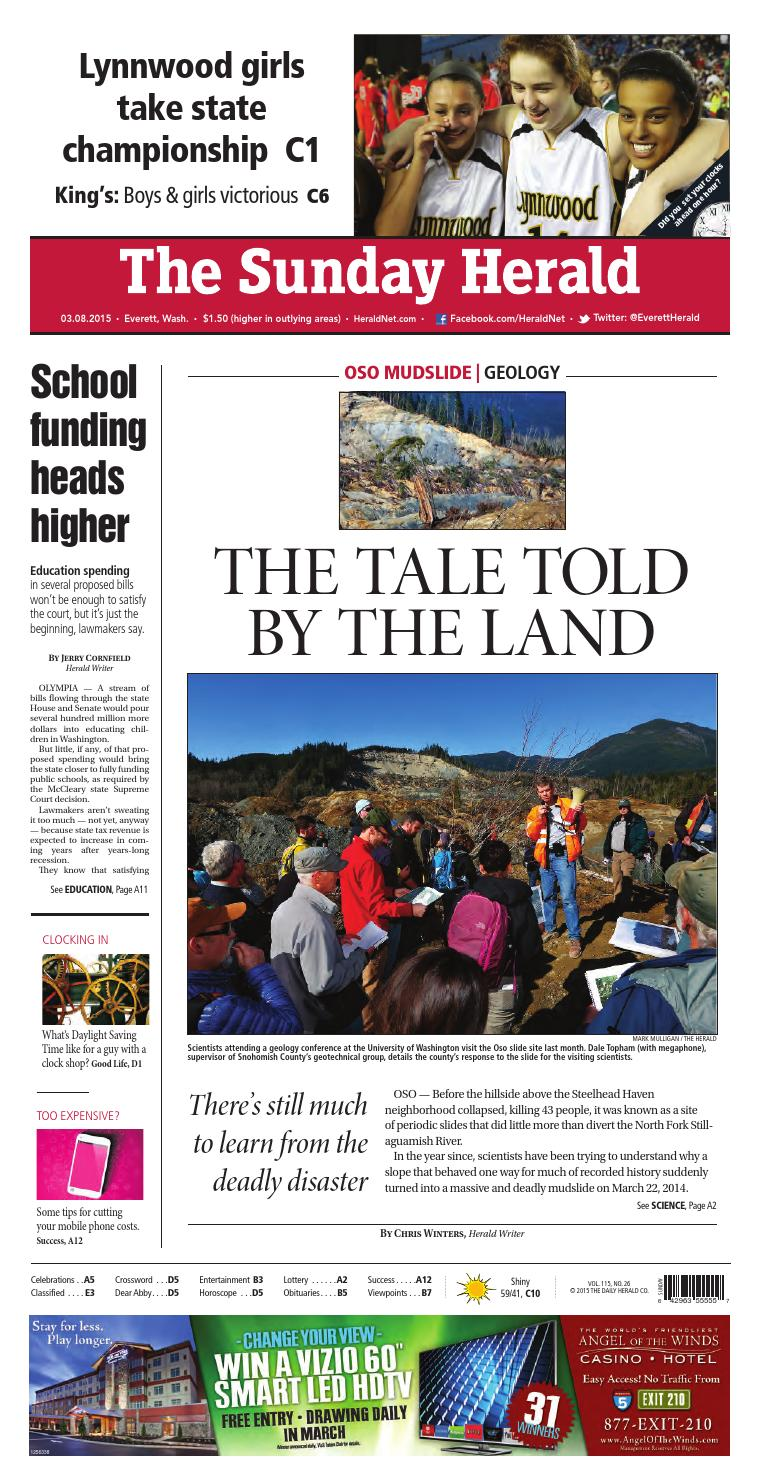 Everett Daily Herald March 08 2015 By Sound Publishing Issuu
