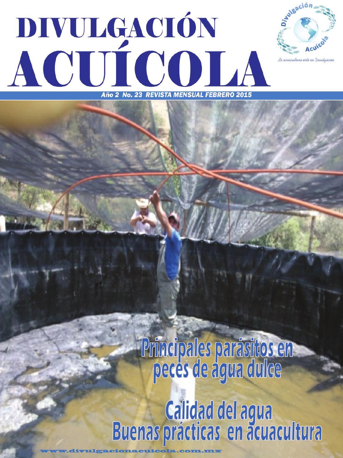 Principales parásitos en agua dulce by DIVULGACION ACUICOLA - issuu