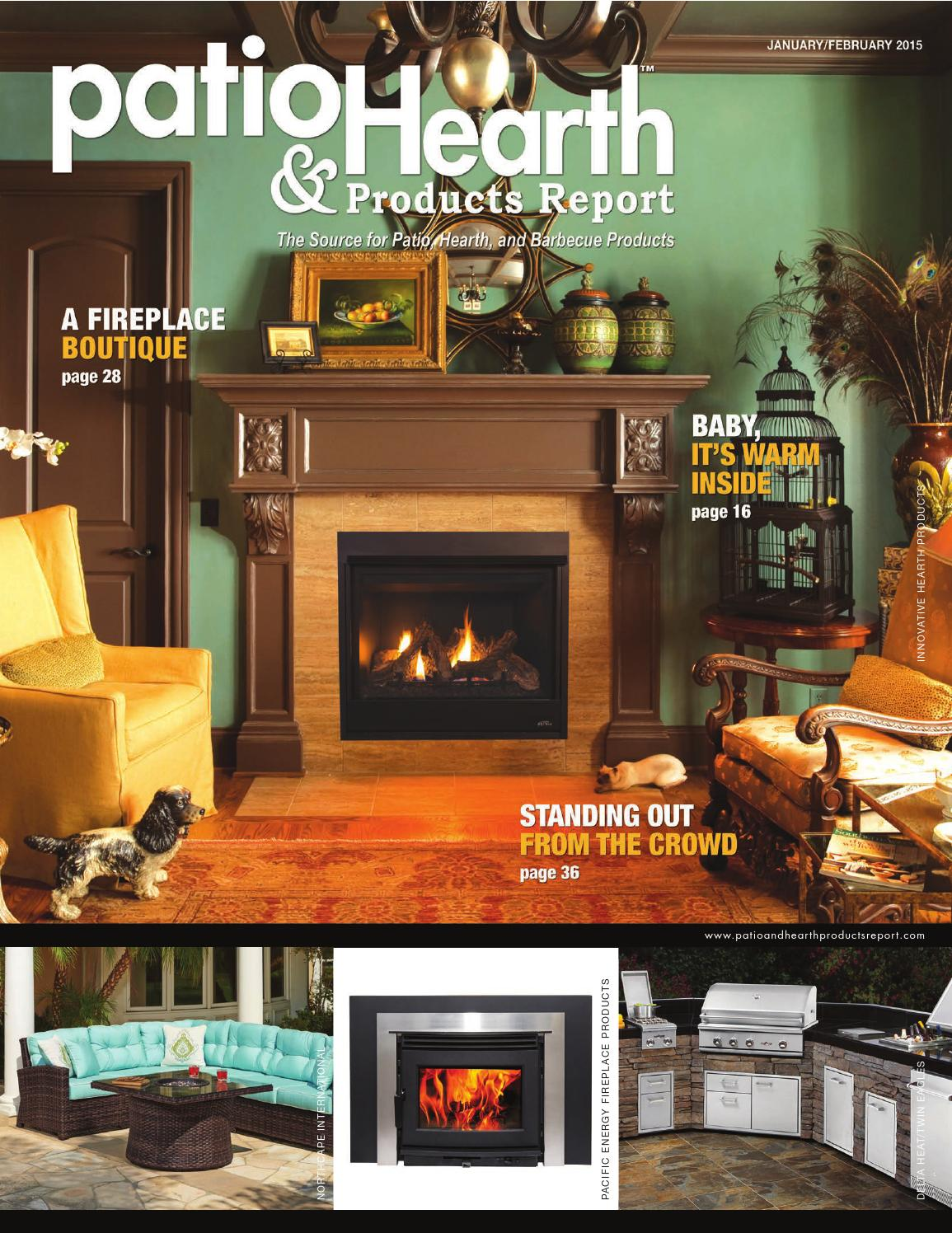patio hearth and products report january february 2015 by