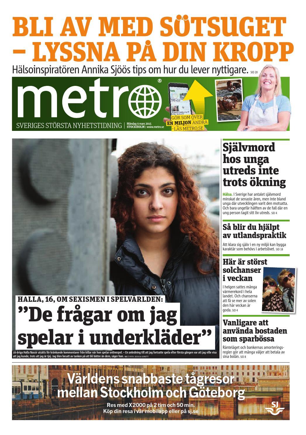 Sverige foll i dc efter utklassning