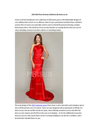 New collection of red prom gowns at aiven co uk by Niki Sin - issuu