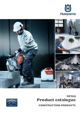 Husqvarna Retail Catalogue - Australia by Husqvarna Construction