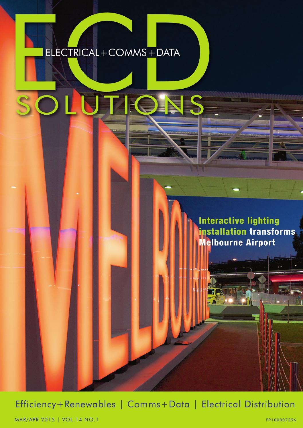 Ecd Solutions Mar April 2015 By Westwick Farrow Media Issuu Breaker Box Furthermore Main Wiring Quotes Moreover Attic