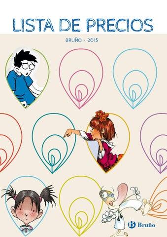 Bruño. Lista de precios 2015 by Grupo Anaya, SA - issuu