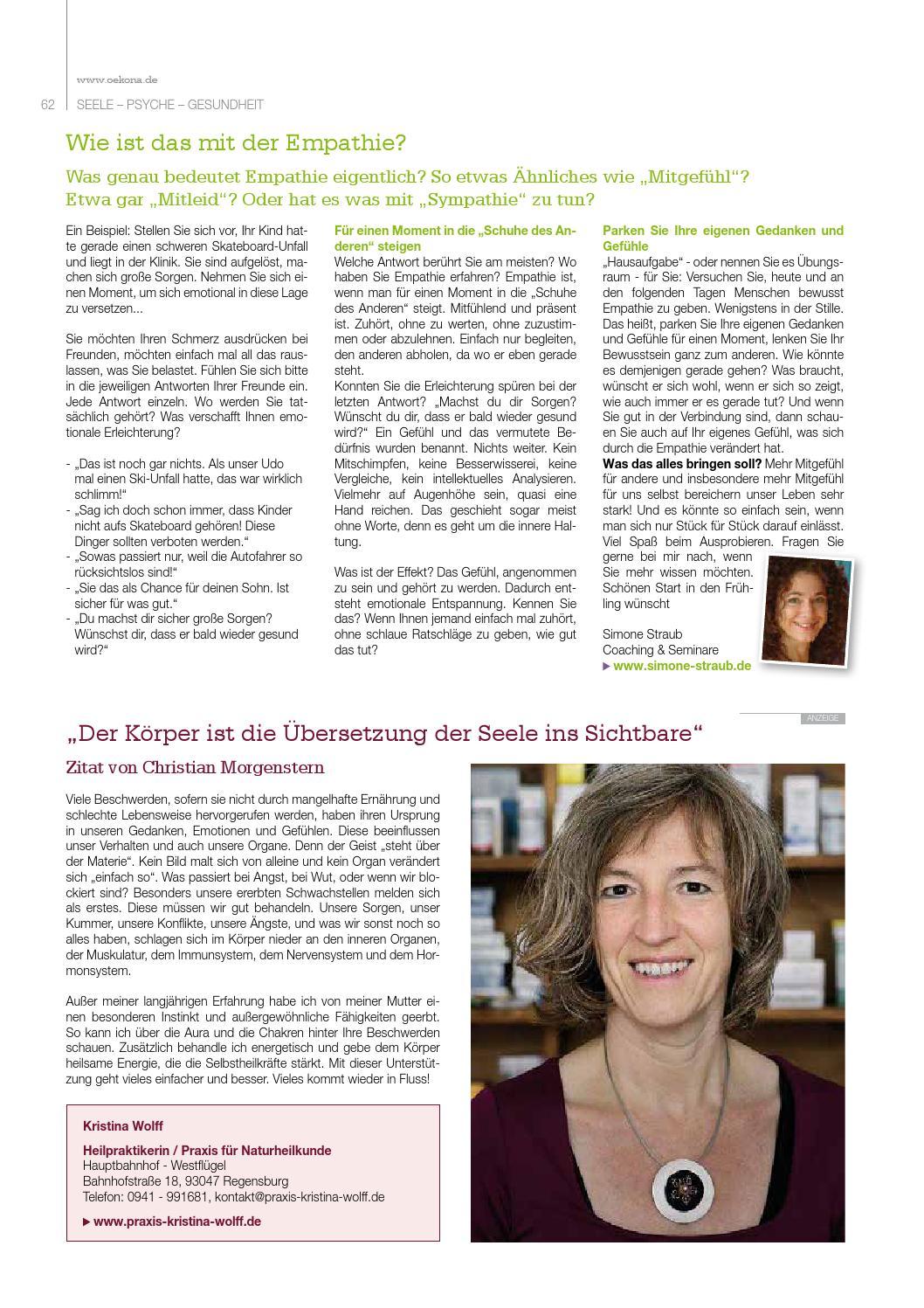 ökona Das Magazin Für Natürliche Lebensart Ausgabe Frühjahr 2015