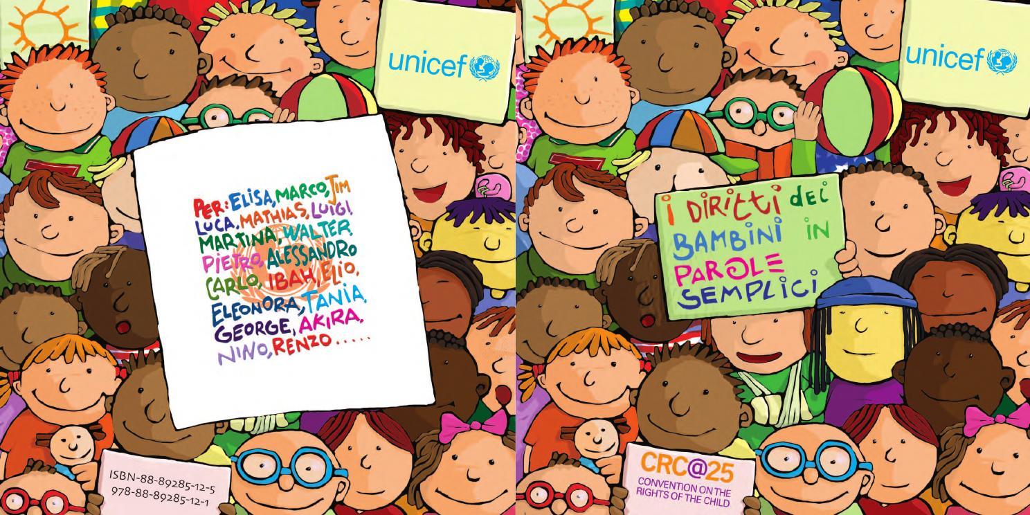 I diritti dei bambini in parole semplici by UNICEF Italia - issuu