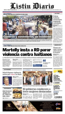 e8eee49454 LD 2015- 03-07 by Listín Diario - issuu