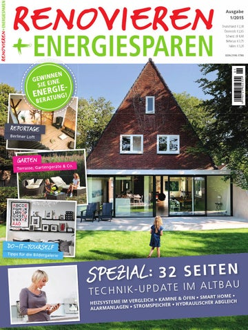 Superb Renovieren U0026 Energiesparen 1/2015