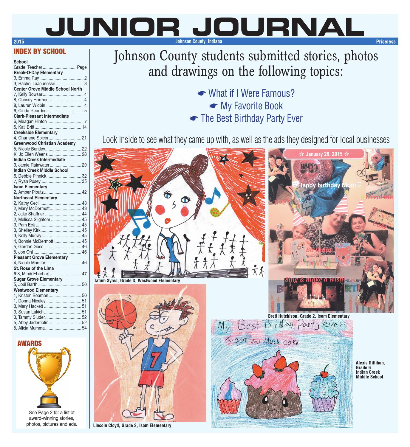 junior journal 2015 by aim media indiana issuu