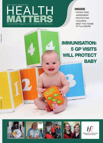 Health Matters Summer 2011 by HSE Communications - issuu