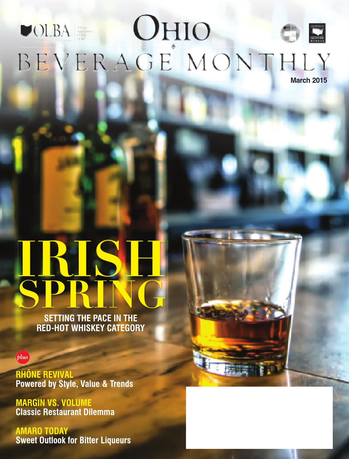 Ohio Beverage Monthly: March 2015 by Molly Hunter - issuu
