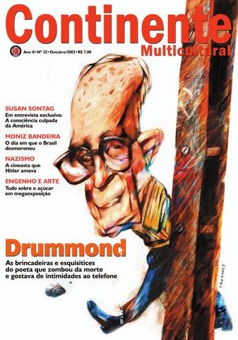 09a471cf2 Continente #022 - Drummond by Revista Continente - issuu