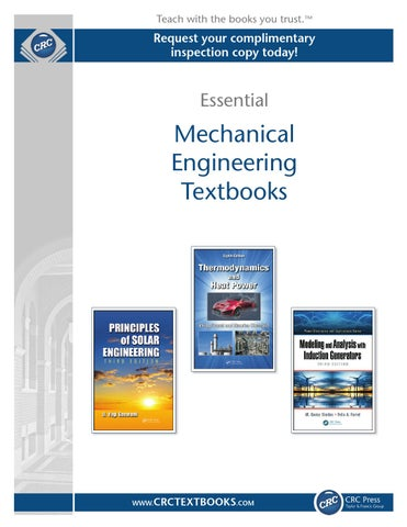 Mechanical Engineering by CRC Press - issuu