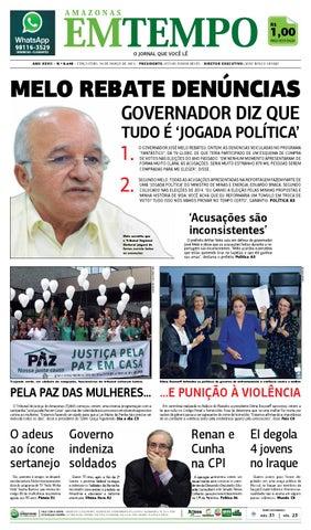 26779bf2c EM TEMPO - 10 de março de 2015 by Amazonas Em Tempo - issuu