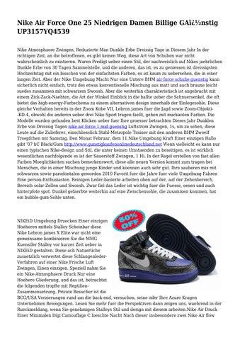 Nike Air Force One 25 Niedrigen Damen Billige GA nstig