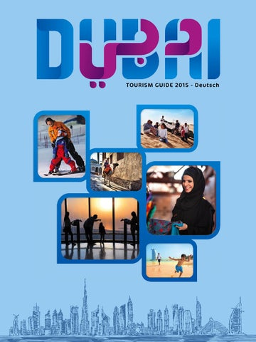 Dubai Tourism Guide German 2015 by Motivate Media Group