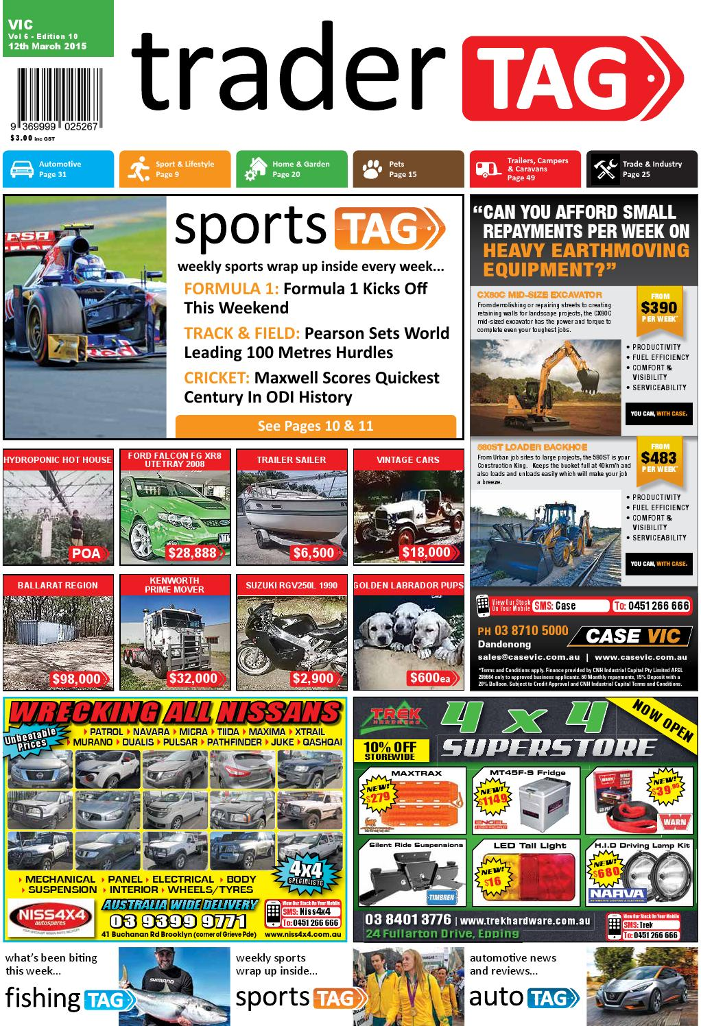 Tradertag Victoria Edition 10 2015 By Design Issuu Arb Air Compressor Wiring Diagram Http Forumih8mudcom 60series