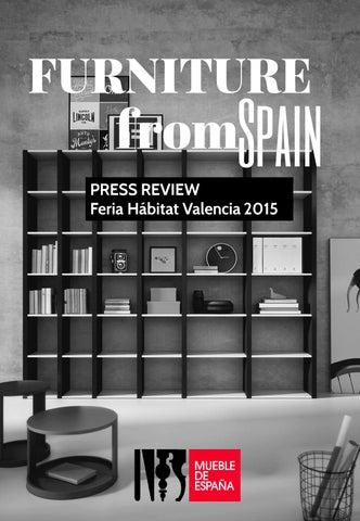 Press Release Feria Habitat Valencia 2015 by FURNITURE FROM SPAIN ...
