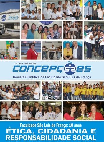 Revista Concepções   FSLF – Edição Nº 1 - by Editora CaLu by C L ... 8a12698215e4c