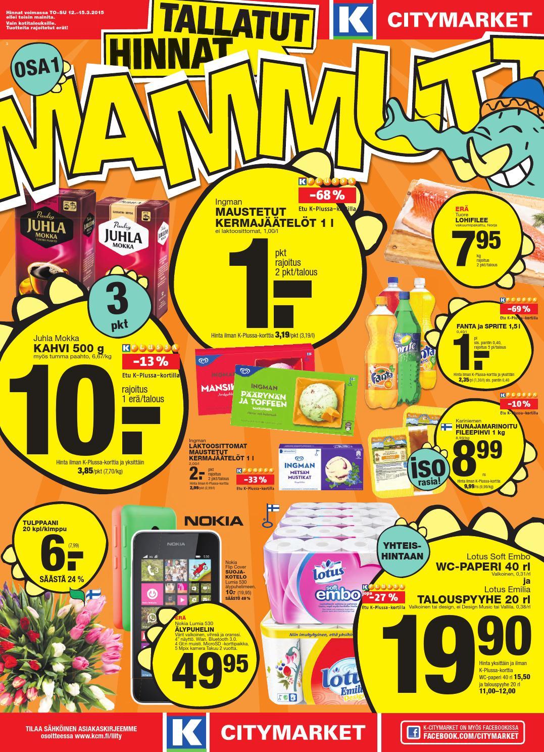 Mammuttimarkkinat Citymarket