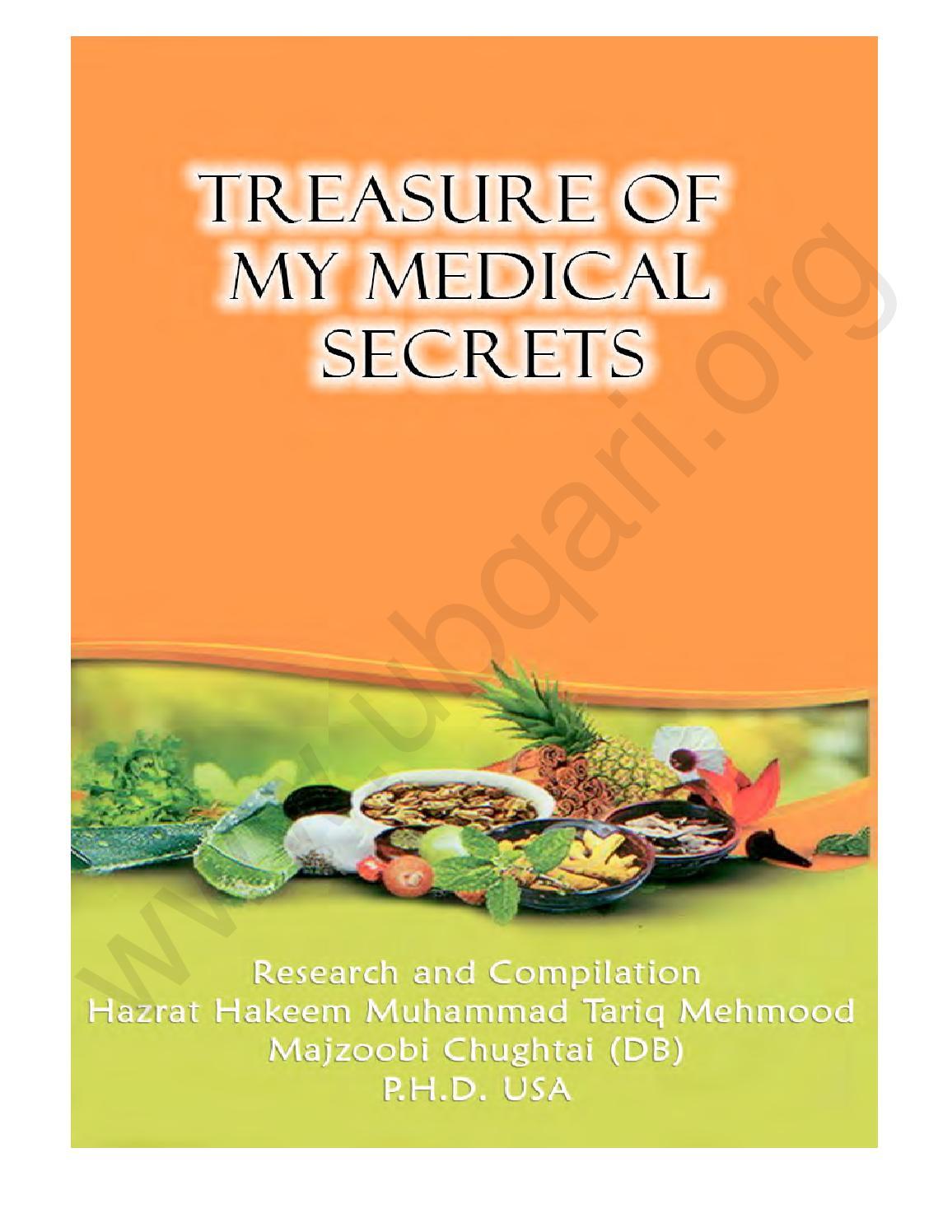 Treasure Of My Medical Secrets by Ubqari - issuu