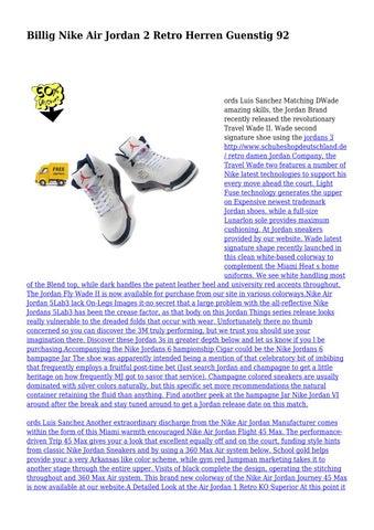 premium selection 458dd 8eb22 ... low price page 1. billig nike air jordan 2 e0724 90592