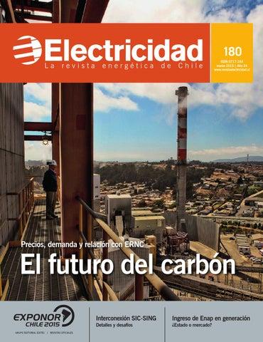 74e095d433468 180 ISSN 0717-164 marzo 2015   Año 24 www.revistaelectricidad.cl