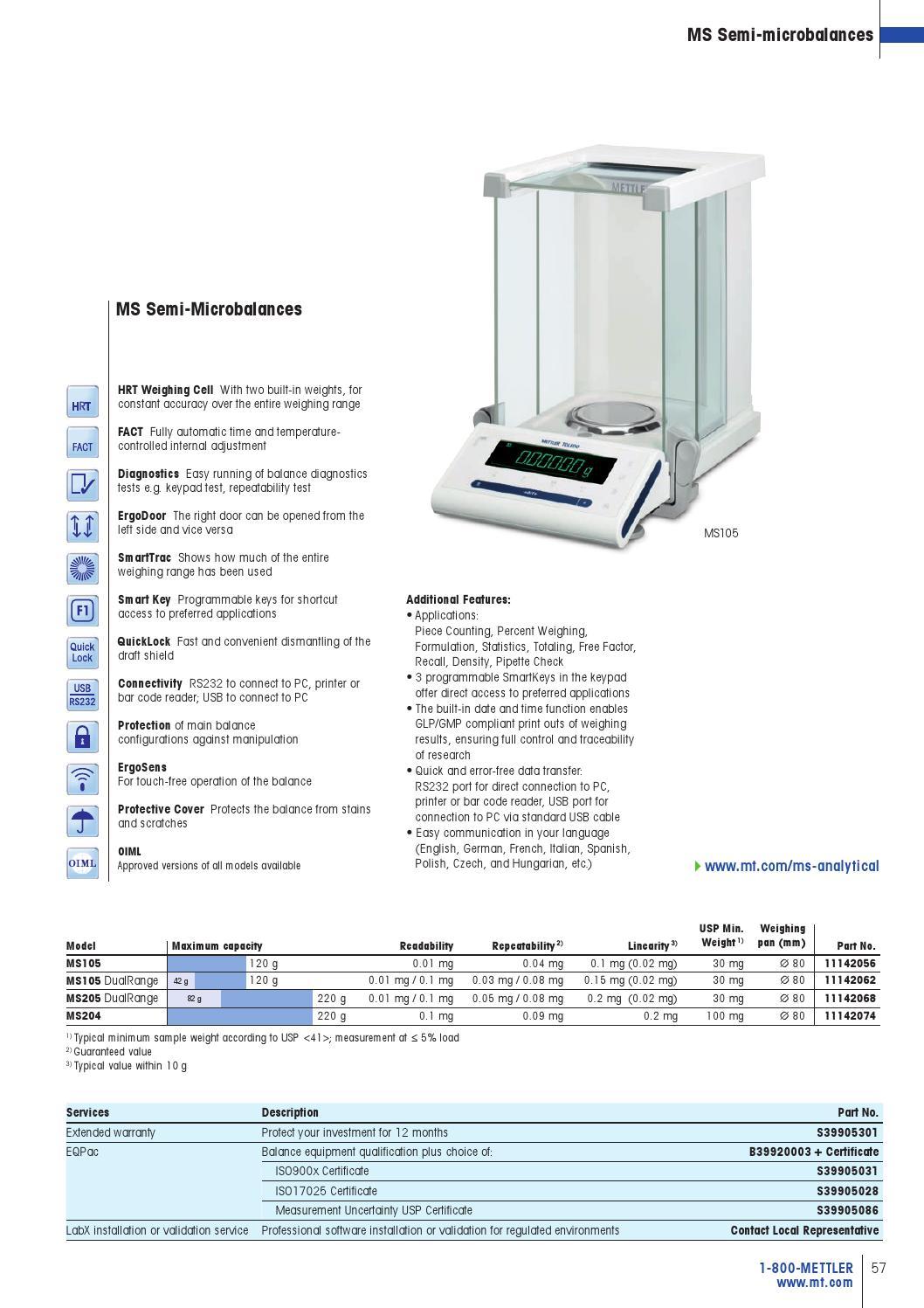 METTLER TOLEDO Laboratory Catalog by Bill Packman - issuu