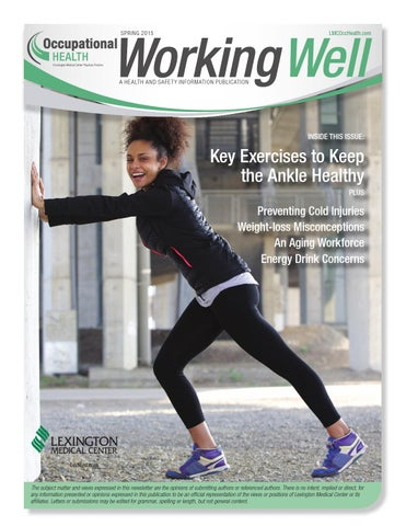 Working Well Spring 2015 By Lexington Medical Center Issuu
