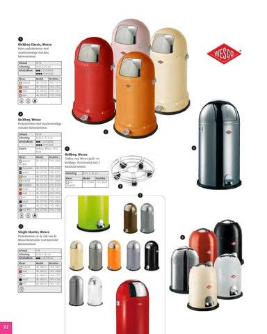Wesco Kickmaster Roze.Produkten Bielen Nv Vepa Bins Vuilbakken Folder By Bielen Issuu