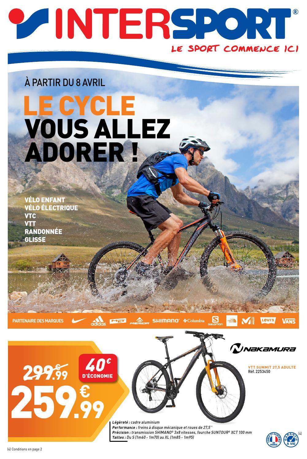France Intersport IntersportLe CycleVous Allez AdorerBy Issuu UVSqzMpG