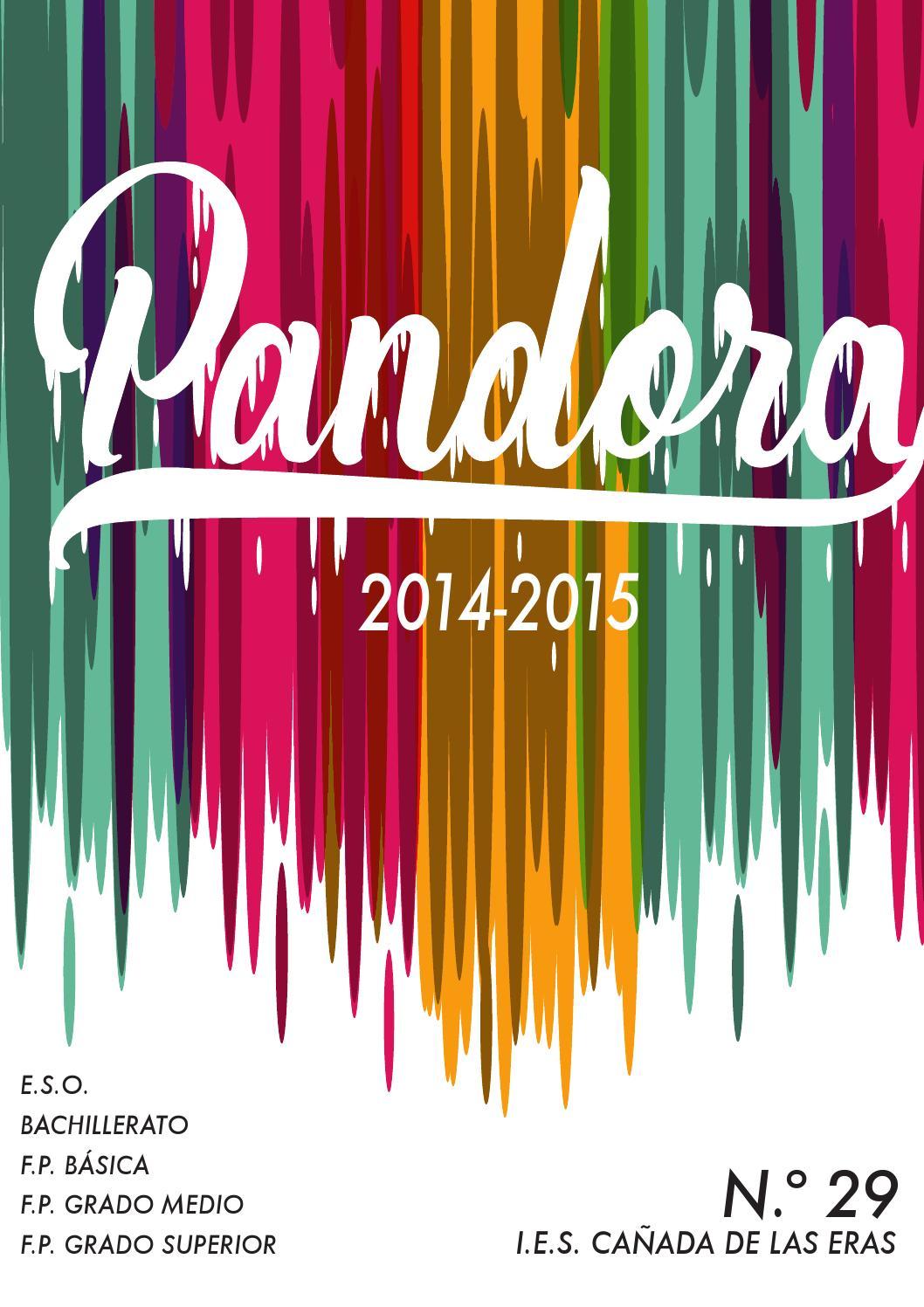 Pandora 29 Web By Pandora De Las Eras