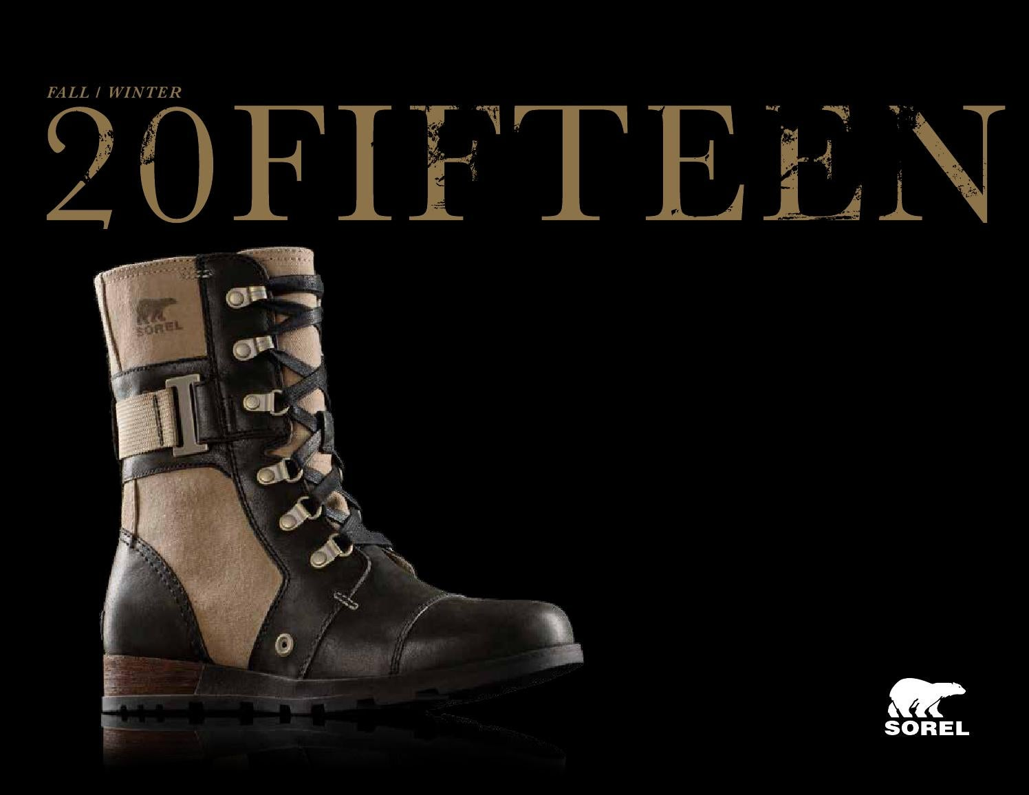 e8c94c6dc3f56 SOREL F15 Catalog by SOREL - issuu