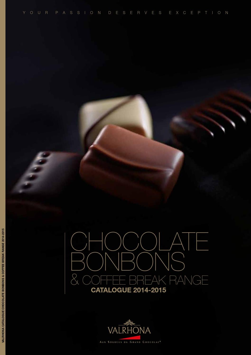 Valrhona Chocolate Bonbons Catalogue 2014/15 by Classic Fine Foods ...