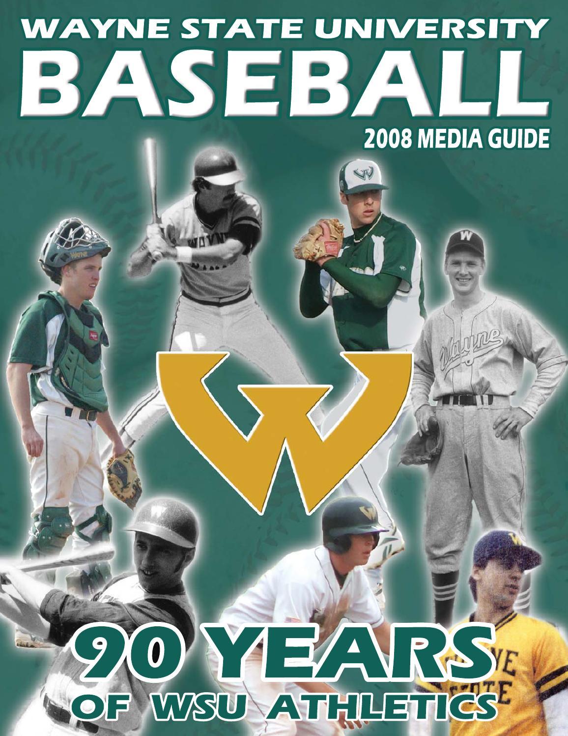 2008 Wayne State University Baseball Media Guide By Wayne State University Warriors Issuu