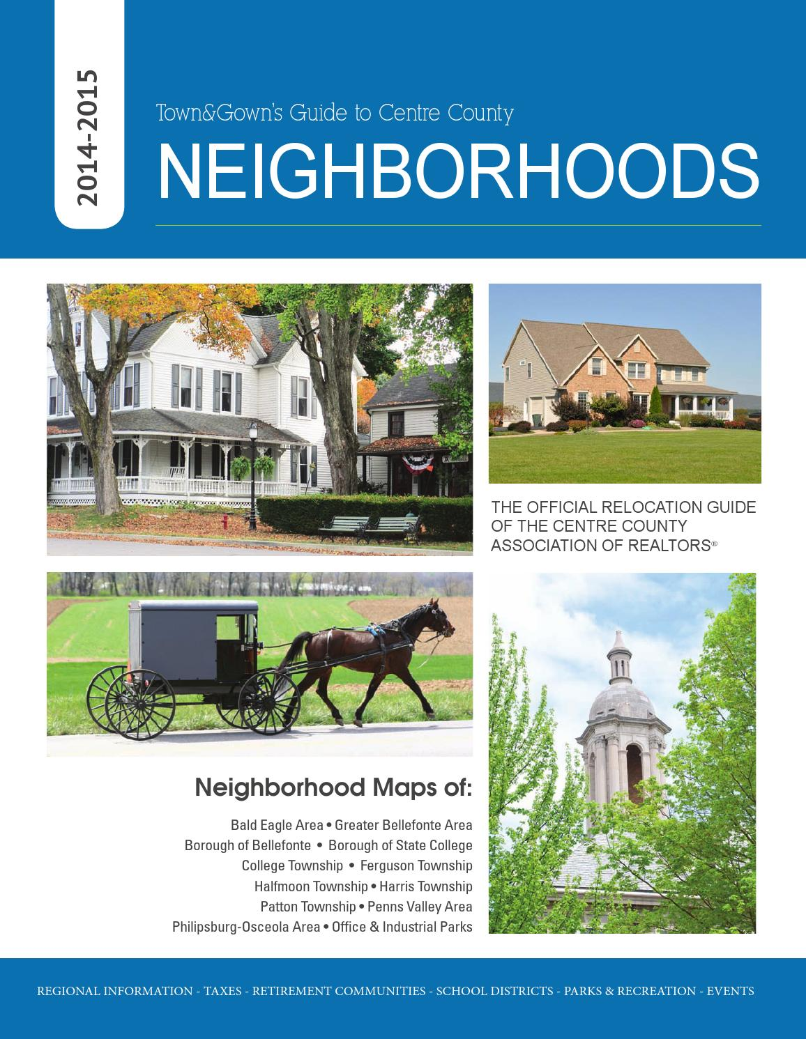 Neighborhoods Guide TownGown 2014 15 By Town Gown