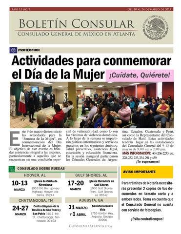 Consulado General de México en Atlanta - Issuu