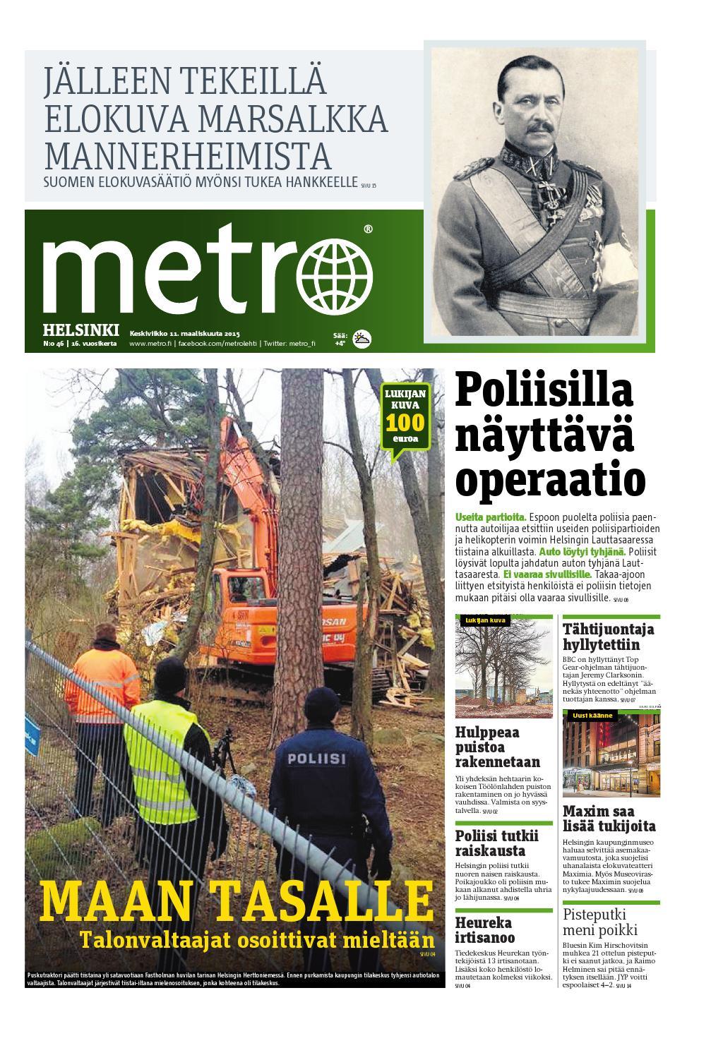 fi Finland helsinki Metro 20150311 By Issuu thrCdxsQB