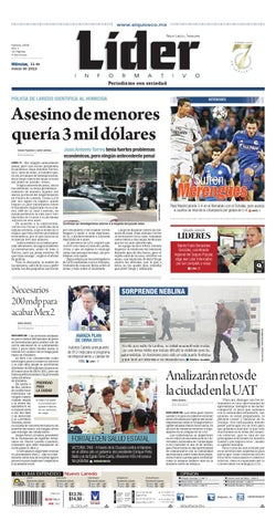 Lider20151103 by Líder Informativo - issuu d936f7f5b40
