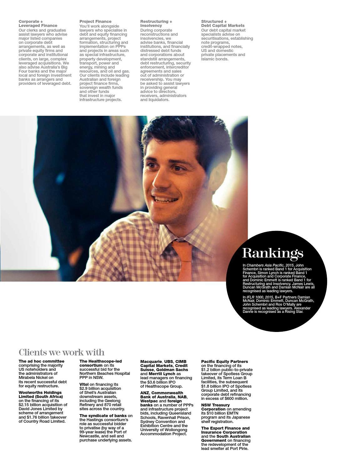 G+T Careers Magazine 2015 by Gilbert + Tobin - issuu