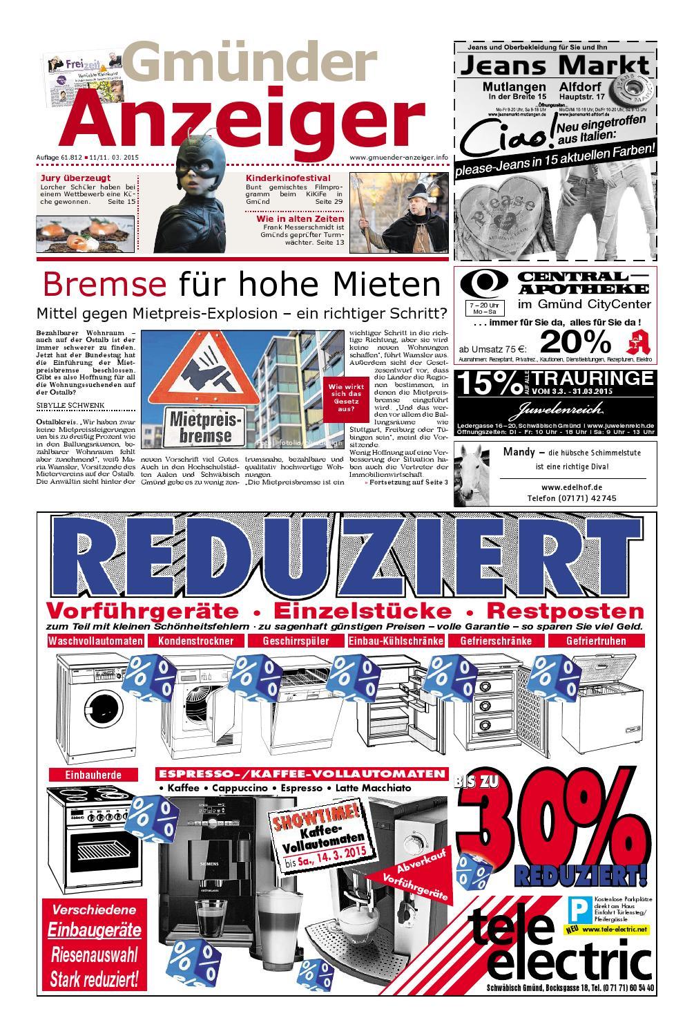 Der Gmünder Anzeiger - KW 11 by Wolfram Daur - issuu