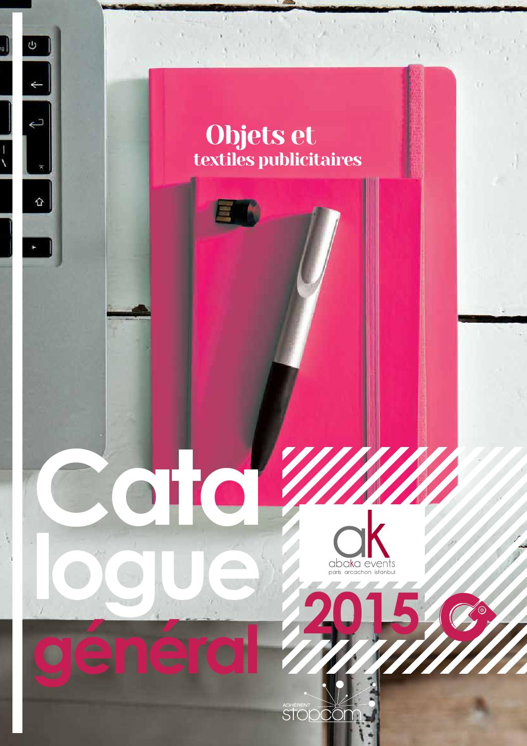 Catalogue OG6 Abaka by Objectif Goodies - issuu e839d96b1fa
