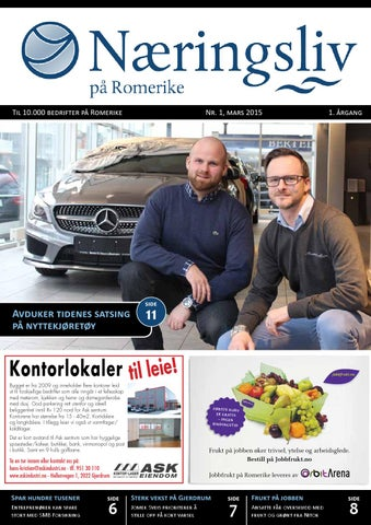 fed29690 Næringsliv på Romerike, mars 2015 by Viken Media AS - issuu