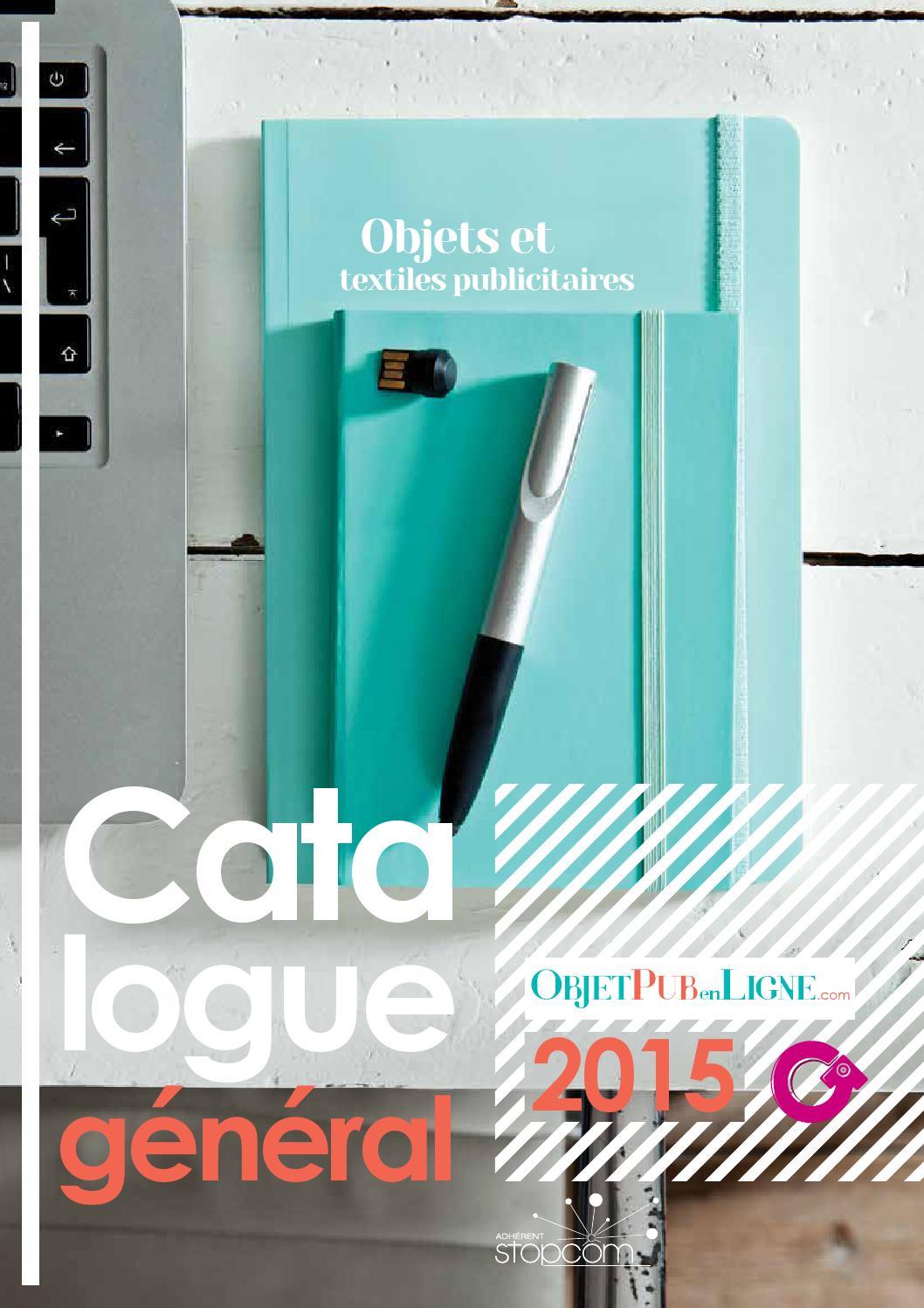 Catalogue OG6 Objet Pub en Ligne by Objectif Goodies - issuu 0853a428eac