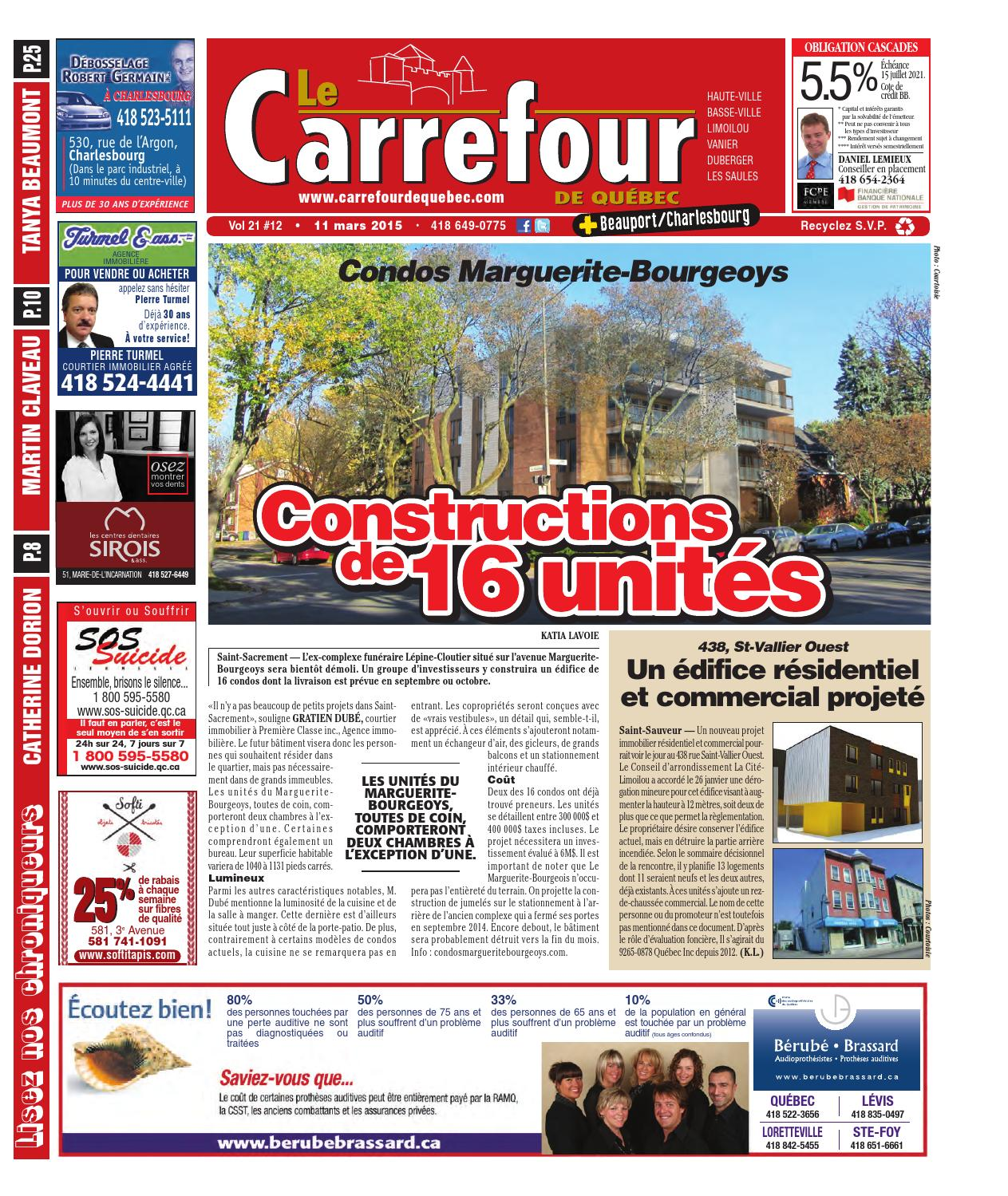 Carrefour de Québec + Beauport/Charlesbourg by redaction - issuu