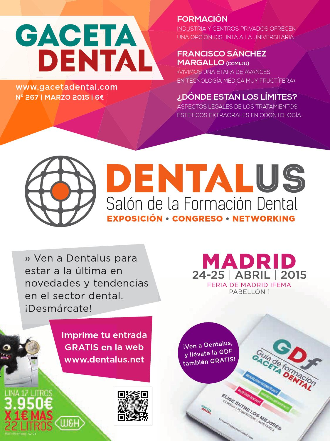Gaceta Dental - 267 by Peldaño - issuu