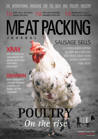 Vol 2 Iss 2 Meat Packing Journal Mar Apr 2015 By Reby